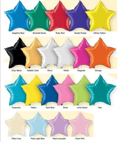 Foil Color Chart